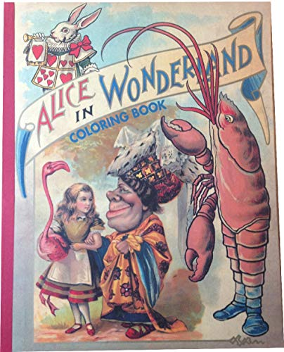 9781884807206: Alice in Wonderland Coloring Book