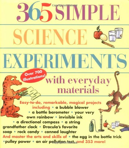 9781884822674: 365 Simple Science Experiments with Everyday Materials