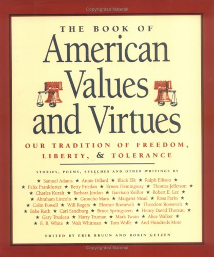 9781884822773: The Book of American Values and Virtues
