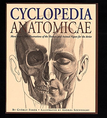 Cyclopedia Anatomicae: More Than 1,500 Illustrations of the Human and Animal Figure for the Artist:...