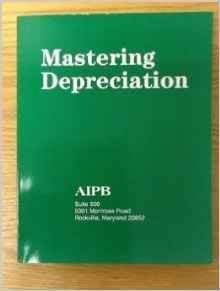 9781884826283: Mastering Depreciation (Professional Bookkeeping Certification)