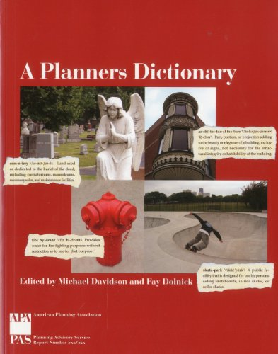 9781884829956: A Planners Dictionary