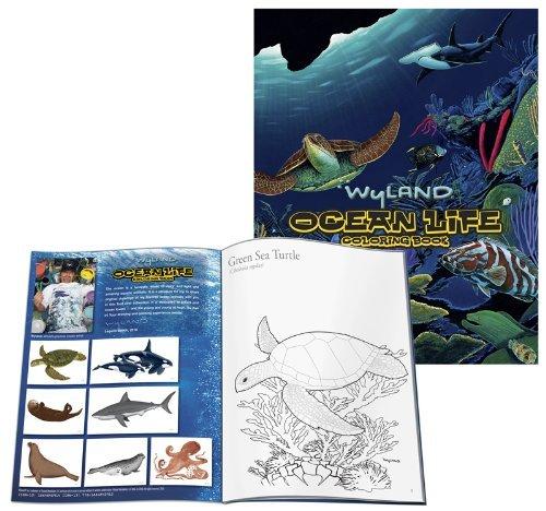 9781884840913: Wyland: Ocean Life Coloring Book