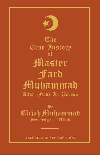 9781884855313: The True History of Master Fard Muhammad