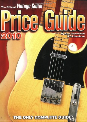9781884883217: 2010 Official Vintage Guitar Magazine Price Guide