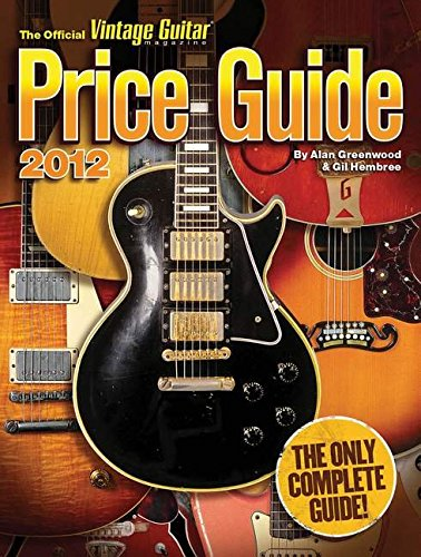 9781884883231: The Official Vintage Guitar Magazine Price Guide 2012