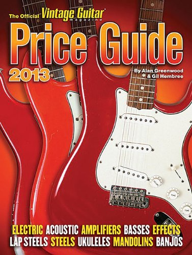 9781884883309: The Official Vintage Guitar Price Guide 2013