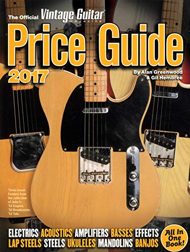 9781884883361: The Official Vintage Guitar Magazine Price Guide 2017