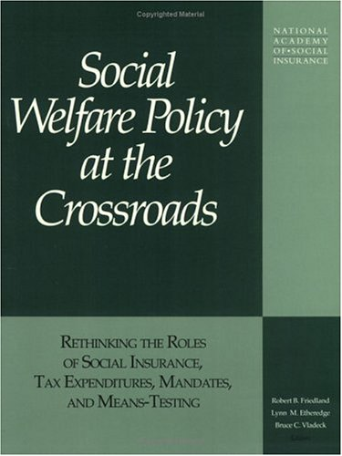 9781884902031: Social welfare policy at the crossroads: Rethinking the roles of social insurance, tax expenditures, mandates, and means-testing