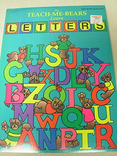 9781884907630: The Teach-Me-Bears Learn Letters