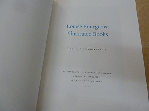 9781884919107: Louise Bourgeois: Illustrated books