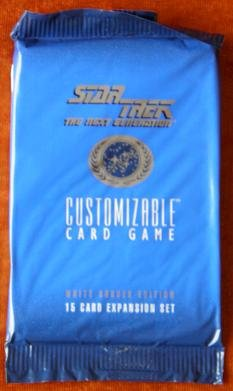 9781884927041: Star Trek: The Next Generation (Customizable Card Game/Expansion Set 15 Cards)