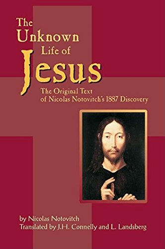 9781884956416: The Unknown Life of Jesus: The Original Text of Nicolas Notovich's 1887 Discovery (Russian Edition)