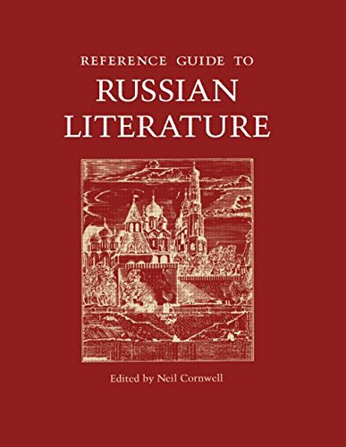 9781884964107: Reference Guide to Russian Literature