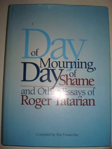 9781884995224: Day of Mourning, Day of Shame: And Other Essays