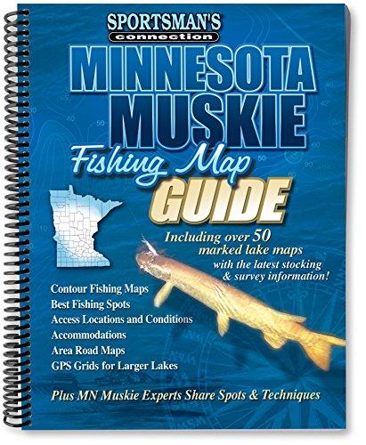 Minnesota Muskie Fishing Map Guide (Sportsman's Connection): Sportsman's Connection
