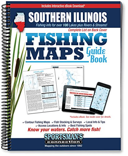 9781885010353: Southern Illinois Fishing Map Guide