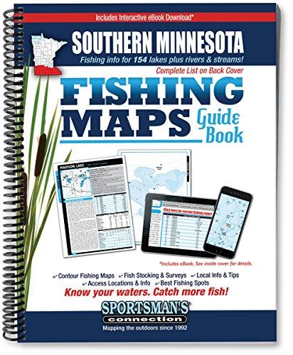Southern Minnesota Fishing Map Guide: Billig, Jim