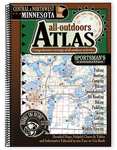 9781885010421: Central and Northwest Minnesota All Outdoors Atlas
