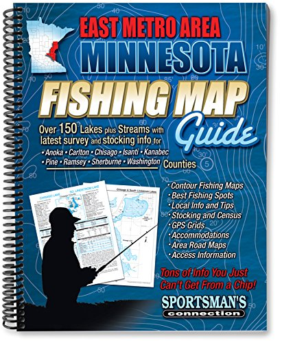 East Metro Area Fishing Map Guide (Including: Jim Billig