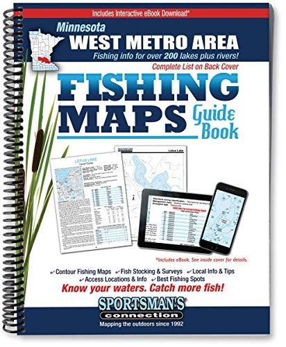West Metro Area Minnesota Fishing Map Guide: Billig,Jim