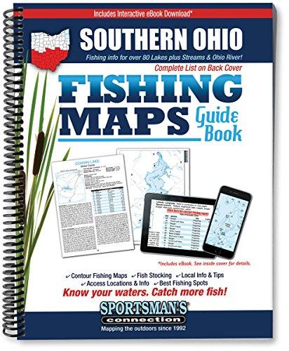 Southern Ohio Fishing Map Guide (Fishing Maps: Jim Billig