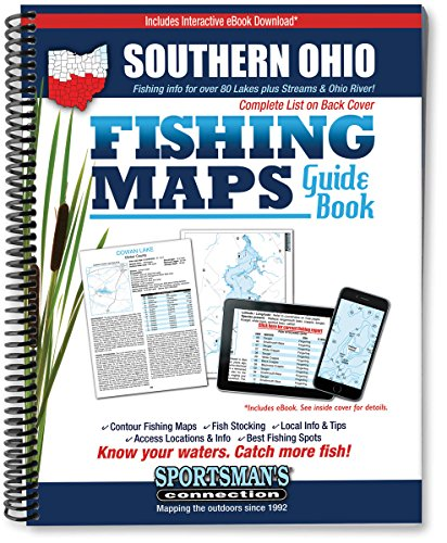 9781885010476: Southern Ohio Fishing Map Guide
