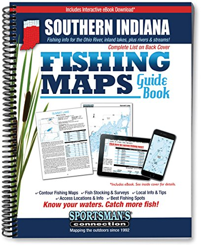 9781885010490: Southern Indiana Fishing Map Guide (Fishing Maps from Sportsman's Connection)