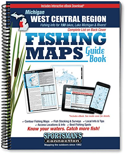 West Central Michigan Fishing Map Guide (Sportsman's Connection): Sportsman's Connection