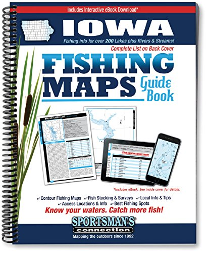 Iowa Fishing Map Guide: Sportsmans Connection