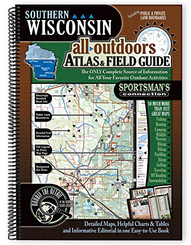 9781885010728: Southern Wisconsin All-Outdoors Atlas & Field Guide
