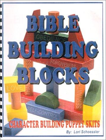 9781885037244: Bible Building Blocks: Character Building