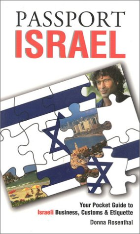 9781885073228: Passport Israel: Your Pocket Guide to Israeli Business, Customs & Etiquette (Passport to the World)