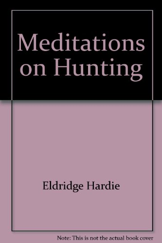 Meditations on Hunting: Gasset, Jose Ortega