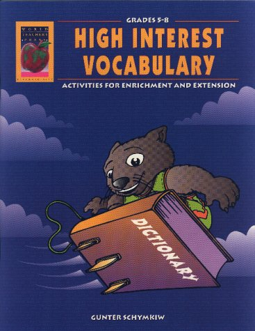 High Interest Vocabulary, Grades 5-8: Schymkiw, Gunter