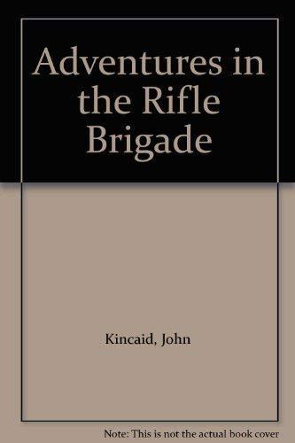 9781885119551: Adventures in the Rifle Brigade