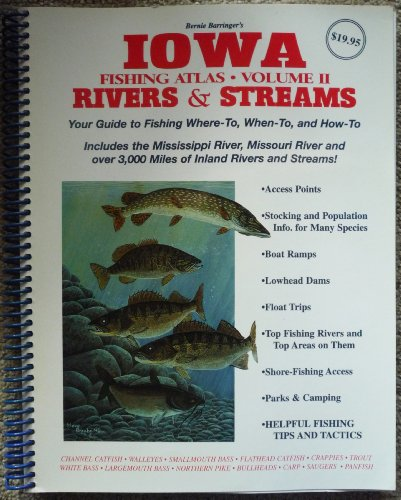 Iowa Fishing Atlas #2: Rivers & Streams
