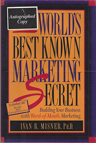 9781885167057: The World's Best Known Marketing Secret: Building Your Business with Word-of-Mouth Marketing