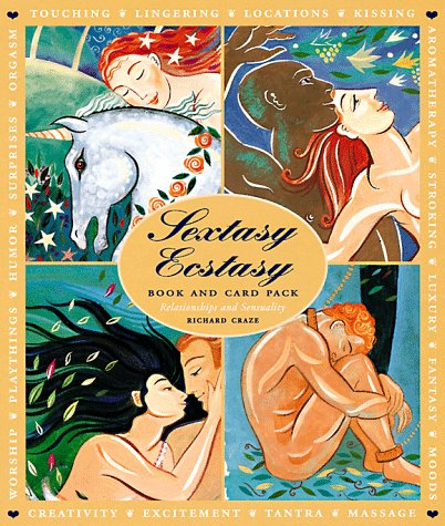 9781885203526: Sextasy Ecstasy Book and Card Pack: Relationships and Sensuality