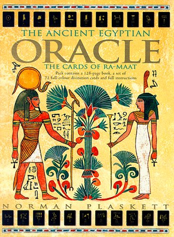 Ancient Egyptian Oracle the Cards of Ra-: Norman Plaskett