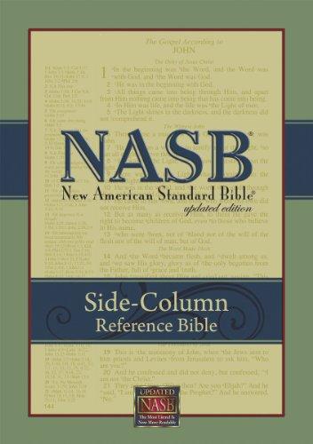 NASB Update Side-Column Reference; Black Genuine Leather: Foundation, The Lockman