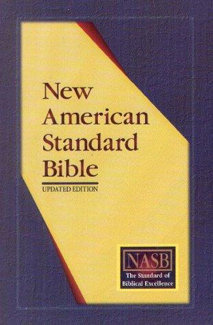 9781885217806: NASB Update Side-Column Reference; Burgundy Bonded Leather; Indexed