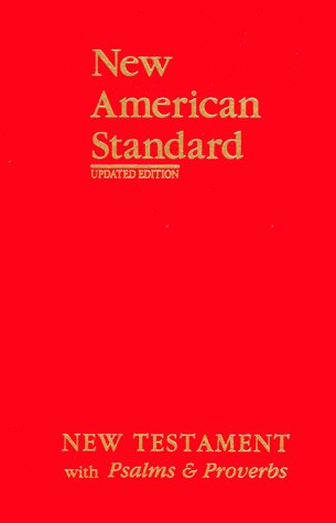 9781885217851: New American Standard New Testament with Psalms and Proverbs; Red Imitation Leather