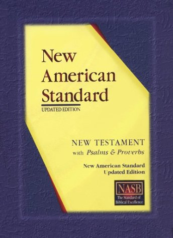 9781885217875: New American Standard New Testament with Psalms and Proverbs; Black Genuine Leather
