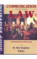 9781885219305: Communication and the Law 2007