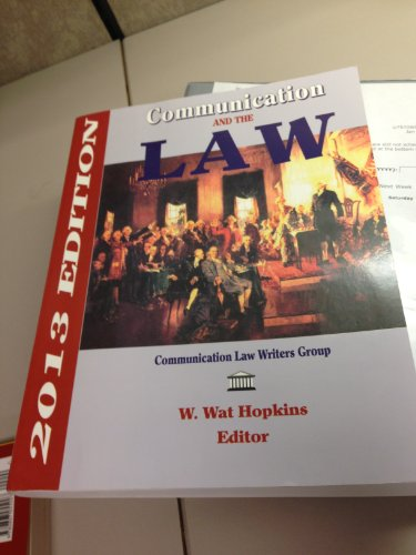 Communication and the Law: W. Wat Hopkins