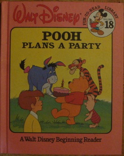 Walt Disney Pooh Plans a Party