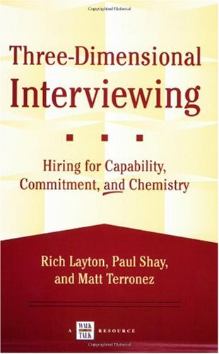 9781885228819: Three-Dimensional Interviewing