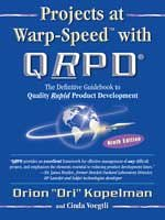 9781885261175: Projects at Warp-Speed with Qrpd--: The Definitive Guidebook to Quality Rapid Product Development