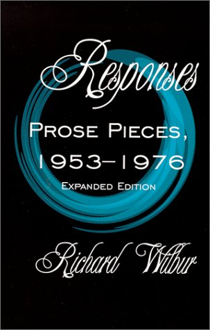 9781885266828: Responses: Prose Pieces, 1953-1976: Expanded Edition